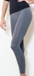 amb 1400 perfect seamless long leggings grey color swatch
