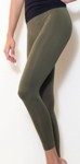 amb 1400 perfect seamless long leggings olive color swatch