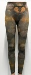 amb 1400-152 orbit long leggings gold/nude color swatch