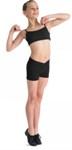 bl cr2704 mattea v-front short black color swatch