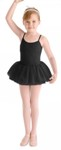 bl cr4041 girls hurley full tutu skirt black color swatch