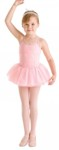 bl cr4041 girls hurley full tutu skirt light pink color swatch