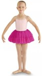 bl cr8111 girls fluffy heart mesh tutu hot pink color swatch