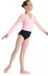 bl cz5407 gilrs cambre crossover cardigan candy pink color swatch