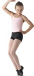 bl ld013cm v-front boy cut shorts black color swatch