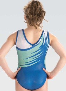 gk elite 10507 graceful twirl gymnastics leotard back