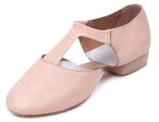 bloch es0410l ladies elastosplit greecian teaching shoes pink color swatch