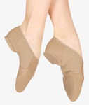 bloch s0495g girls neo-flex jazz shoe tan color swatch