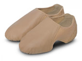 bloch s0497g girls spark jazz shoe tan color swatch