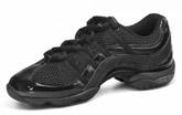 bloch s0523l ladies wave dance sneaker black color swatch