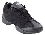 bloch s0524 mens criss cross dance sneaker black color swatch