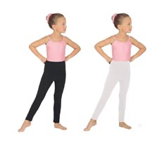 eurotard 1066 child cotton lycra ankle legging color swatch