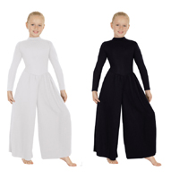 eurotard 13846c child simplicity high neck jumpsuit