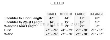 eurotard 13846c child simplicity high neck jumpsuit sizing chart