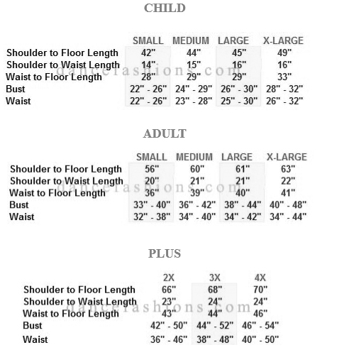 eurotard 13846 simplicity high neck jumpsuit sizing chart