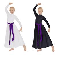 eurotard 13847c child simplicity high neck praise dress color swatch