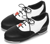 bloch s0327g black and white color swatch