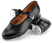 bloch s0352 girls mary jane tap shoes black color swatch
