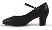 bloch s0378l ladies diva character shoes black color swatch