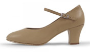 bloch s0378l ladies diva character shoes tan color swatch