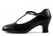 bloch s0385l ladies chord character shoes black color swatch