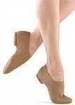 bloch s0401l ladies super jazz shoe tan color swatch