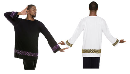 eurotard 85134 mens royalty unisex tunic