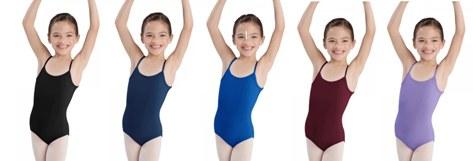 bloch l5407 children camisole leotard color swatch 1