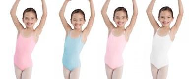 bloch cl5407 childrens camisole leotard color swatch 2