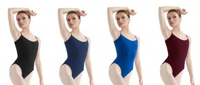 bloch l5407 camisole leotard color swatch 1