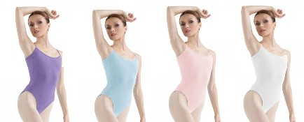bloch l5407 camisole leotard color swatch 2