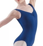 bloch l5415 royal blue tank leotard