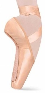 bloch s0131l serenade pointe shoe swatch