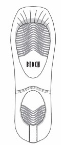 bloch s0172 eurostretch sole