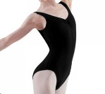 bloch l5415 black tank leotard