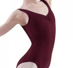 bloch l5415 burgundy tank leotard