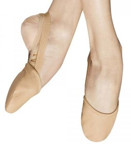 bloch s0607l revolve half sole leather shoe