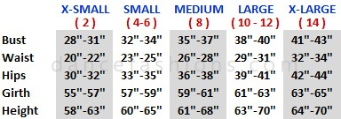 body wrappers 701 adult ripstop pants sizing chart