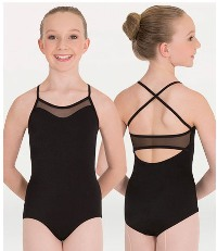 body wrappers p1007 childrens mesh inserts camisole leotard