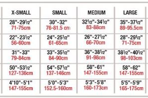 body wrappers p1130 adult strappy keyhole bra sizing chart