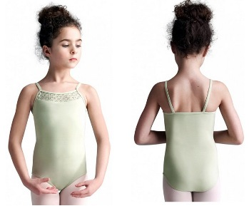 capezio mc811c meryl collection childrens strappy camisole leotard