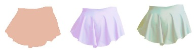 capezio mc814c meryl collection child circle skirt color swatch 2