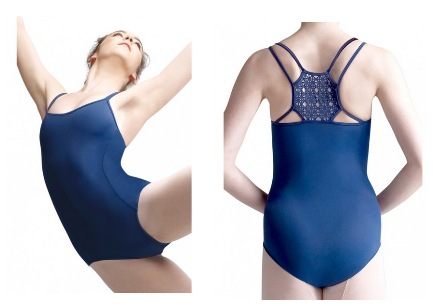 Capezio Exclusive Diamond Racerback Leotard MC817W