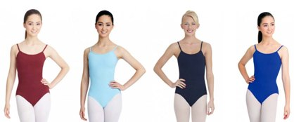 capezio classic leotard with fully adjustable straps color swatch 2