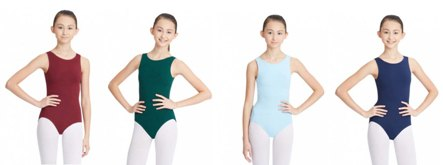capezio cc201 classic high neck tank leotard color swatch 1