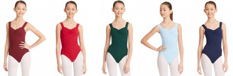 capezio cc202 classic princess seam leotard color swatch