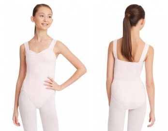 capezio cc202 adult classic princes seam leotard front back