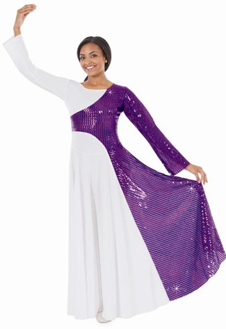 eurotard 42868 diamond praise grace dress