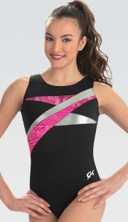 gk elite e3738 strike out gymnastics leotard