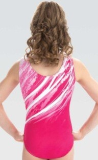 gk elite e3754 whisper gymnastics leotard center back